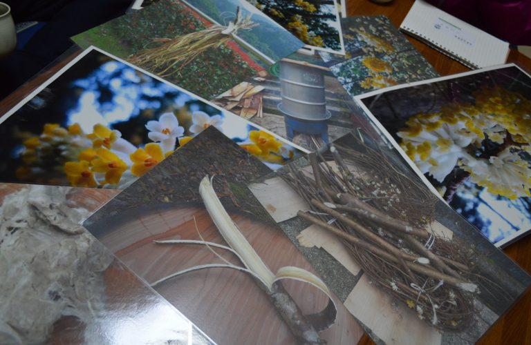 玖木地区の紙漉きイベント