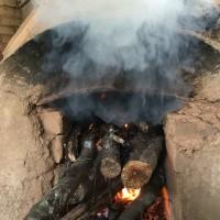 火を入れる2
